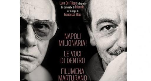 """Coronavirus, il Teatro Stabile sui social: si parte su Fb con le foto di """"Napoli Milionaria"""""""