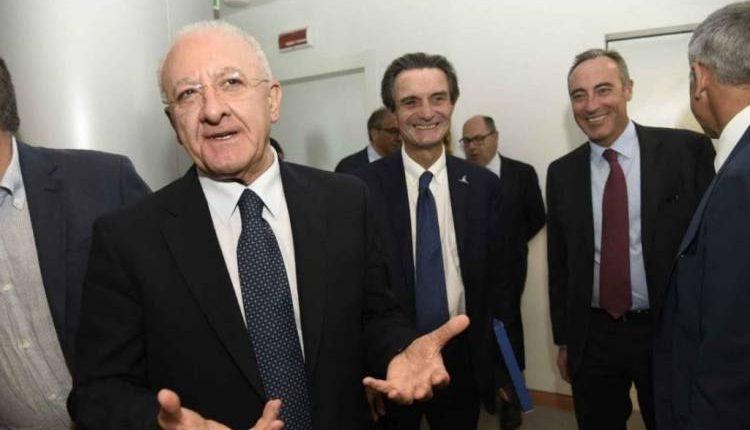 """ScontroFontana-De Luca a """"Porta a porta"""": questa sera su Rai 1 alle 23.15"""