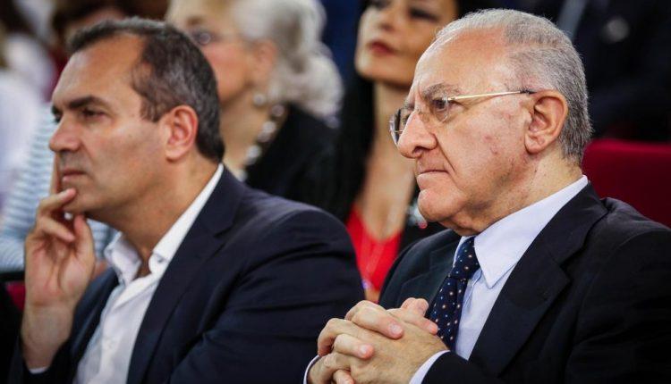 LA CRISI ISTITUZIONALE E LA CHIAMATA DI RIAVVICINAMENTO- de Magistris chiama De Luca: incontro a breve