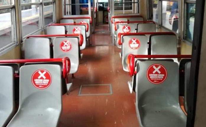 Dal 4 maggio posti distanziati  nei treni della sgangheratissima Cicumvesuviana