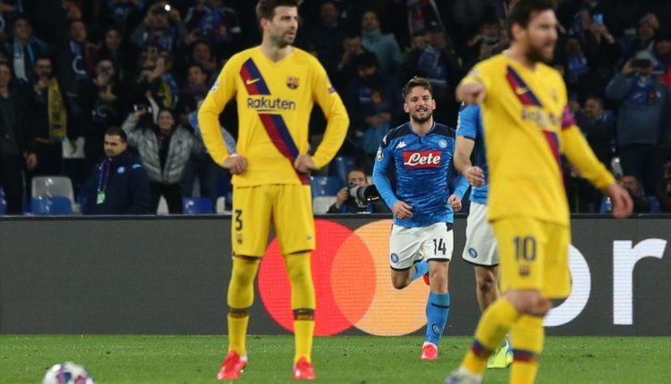 Calcio, parte oggi il rimborso per i biglietti Barcellona-Napoli