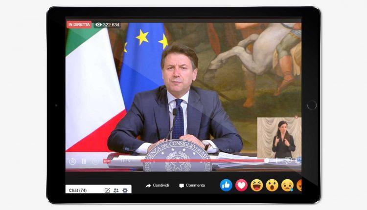 """LA FASE 2 DEL CORONAVIRUS – Il Presidente Giuseppe Conte: """"Entro settimana piano per aperture da 4 maggio,molti cittadini stanchi, ma riaprire subito è irresponsabile"""""""