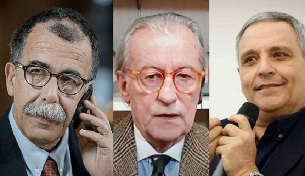 Offese al Sud, Maurizio De Giovanni e Sandro Ruotolo querelano Feltri:mandato all'avvocato Barra Caracciolo di denunciare il giornalista per le parole contro campani e meridionali