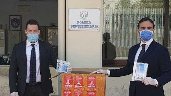 Millecinquecento mascherine in dono per il Palazzo di Giustizia di Napoli dai Giovani Penalisti
