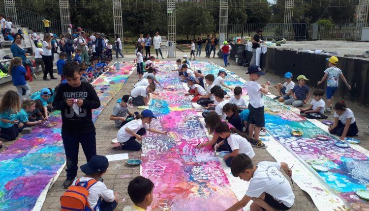XV ed. del Giorno del Gioco a San Giorgio a Cremano:flash mob delle famiglie per ribadire il diritto al gioco  #iorestoacasaegioco