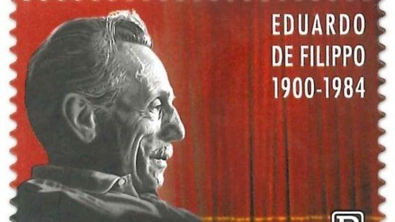 Da Poste Italiane un francobollo dedicato a Eduardo De Filippo per il 120 ennesimo anniversario della nascita