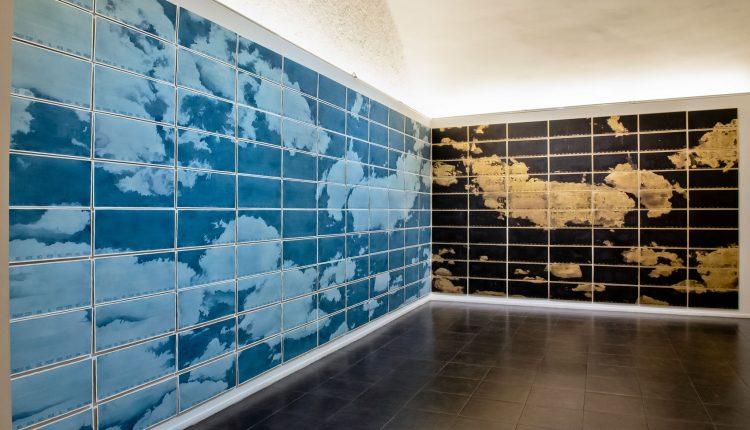 The sky inside us di 8Ki _Gianfranco De Angelis La prima mostra d'arte contemporanea durante il periodo di lockdown, allo Spazio Nea di via Costantinopoli a Napoli