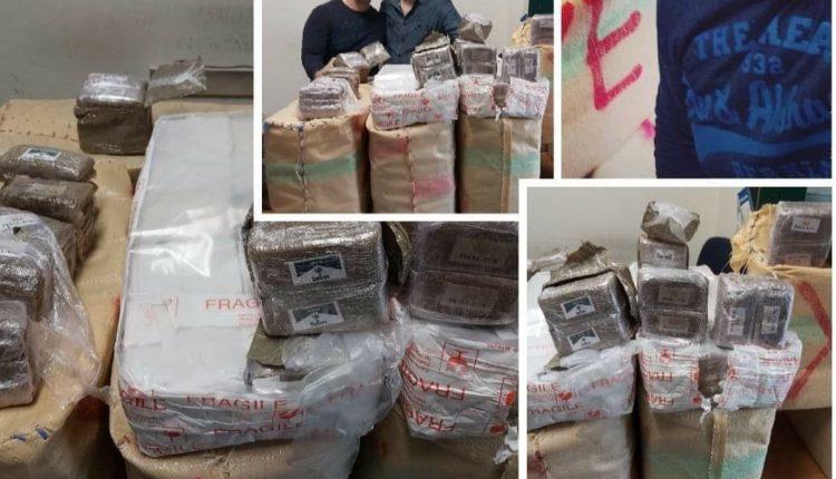 I carabinieri trovano in un'abitazione 255 kg di hashish: arrestata una donna 60enne di Pollena Trocchia e un 30enne di Ponticelli