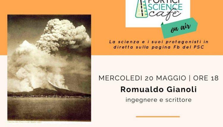 Continuano gli appuntamenti delPortici Science Cafèon air, ospitel'ingegnere e scrittore Romualdo Gianoli