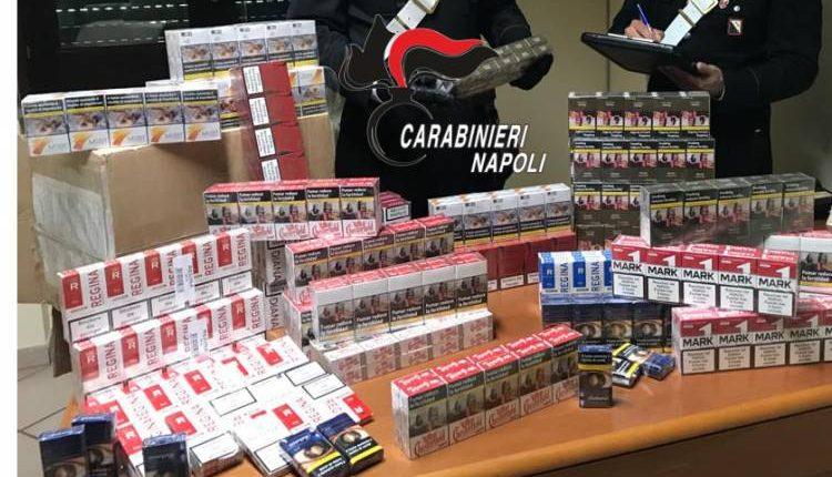 Somma Vesuviana: preso dai carabinieri con 8 chili di sigarette di contrabbando