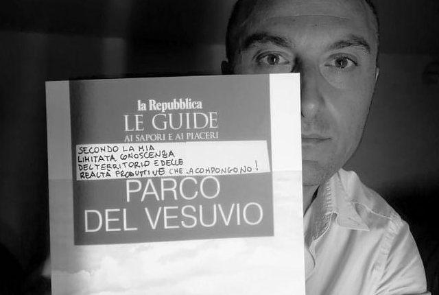 """Una lettera-denuncia del vignaron vesuviano Nicola Campanile ai vertici del quotidiano La repubblica che nella guida sulle eccellenze del Parco Nazionale del Vesuvio, dimentica i nuovi produttori di vino e cita sempre gli """"stessi"""""""