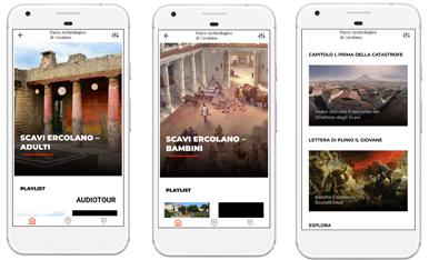 Turismo a Ercolano, ecco un'audioguida contenuta in una app 3D tra le strade del parco archeologico