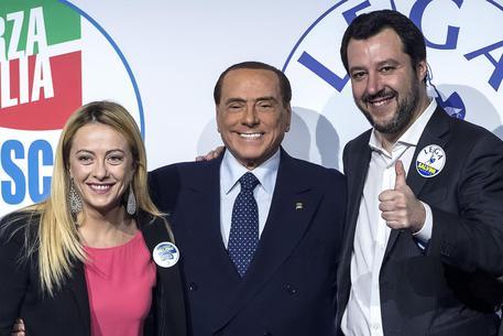 Berlusconi-Salvini-Meloni, accordo c.destra su Regionali