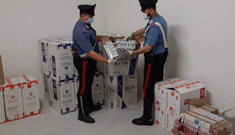 Scoperti a Ercolano dai carabinieri 400 chili di tabacchi di contrabbando