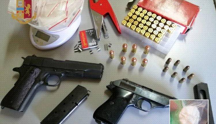 Armi a Ponticelli, denunciati per droga due pregiudicati