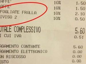 """CARO PREZZI – Napoli, 50 cent in più sullo scontrino per tagliare la sfogliatella, il barista di Ponticelli a La Radiazza: """"Ho fatto bene"""""""