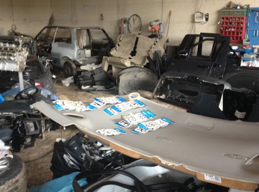 Ritrovata dalla polizia un'auto rubata a San Giuseppe Vesuviano