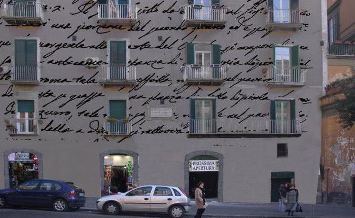 """Giacomo Leopardi: un progetto artistico per il recupero della residenza napoletana.  Presentato a Recanati """"Casa Vico Pero"""" dall'artista Giliberti"""