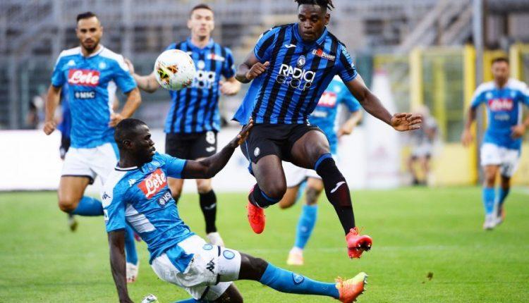 IL NAPOLI CADE A BERGAMO – Serie A: Atalanta batte Napoli 2-0 :le reti dei padroni di casa nel secondo tempo di Pasalic e Gosens