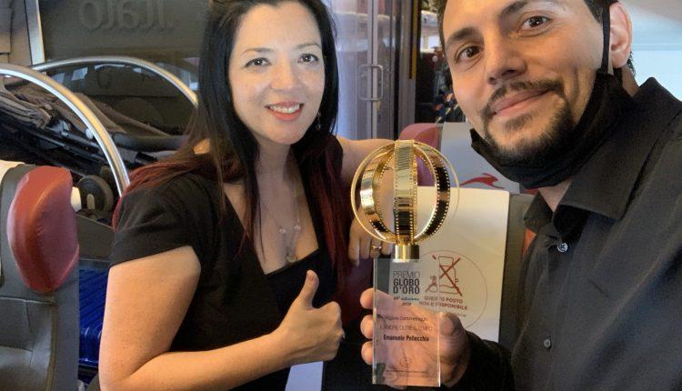 """Vince il Globo d'Oro 2020 il corto """"L'amore oltre il tempo"""" diretto da Emanuele Pellecchia e prodotto dalla vomerese Phoenix Film Production, anche casa editrice di saggi, romanzi e fumetti nel ramo Phoenix Publishing"""