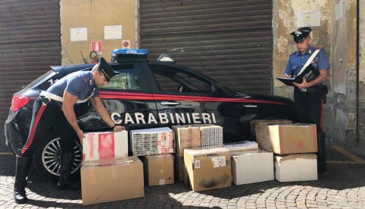 A Secondigliano e Ottaviano sequestrata mezza tonnellata di sigarette di contrabbando