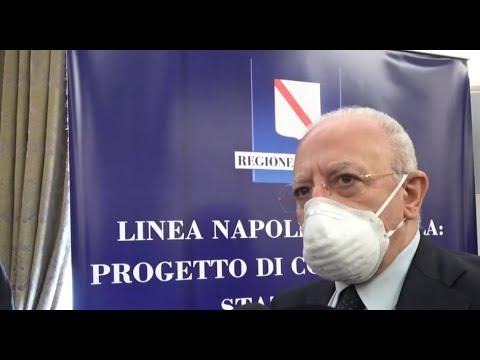 """Da Napoli ad Afragola in metrò, ecco il progetto targato De Luca. """"A fine 2021 le prime gare"""". L'opera costerà1,6 miliardi euro"""