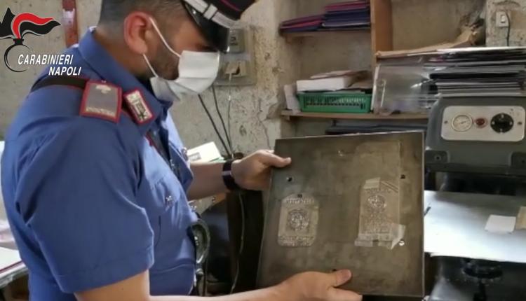 Passaporti contraffatti: smantellata la centrale del falso a Somma Vesuviana, arrestato un 64enne incensurato
