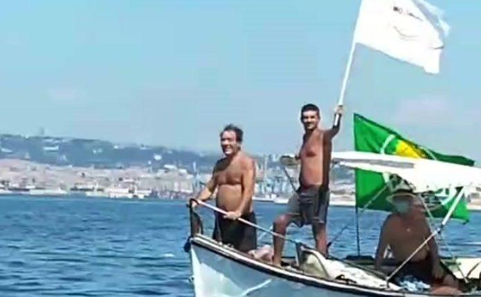 """Portici, manifestazione di Europa Verde per le spiagge libere: """"Restituiamo ai porticesi le spiagge disponibili, amministrazione cieca di fronte alle difficoltà dei cittadini"""""""