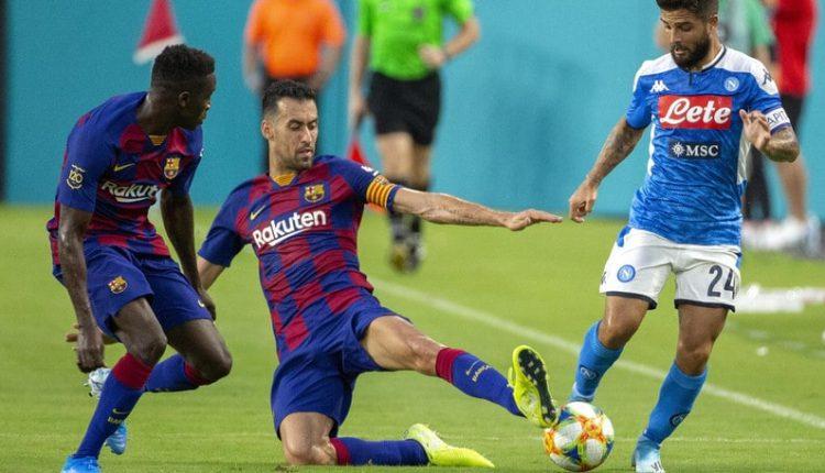 Champions: Insigne convocato da Gattuso per la sfida di questa sera contro Barcellona, ilcapitano del Napoli si è allenato in gruppo