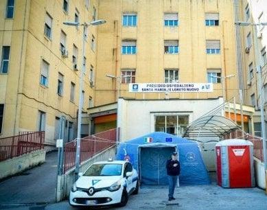 Napoli, riaperto da stamattina il Covid Center del Loreto Mare