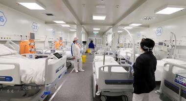 Coronavirus a Napoli, 20 ricoverati all'Ospedale del Mare