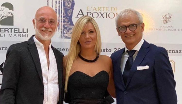 """La produttrice partenopea Maria Guerriero e il regista Antonio Centomani insigniti con il Premio Internazionale Apoxiomeno 2020.Il riconoscimento è stato assegnato per il film sul femminicidio """"Resilienza"""" girato a Ischia"""