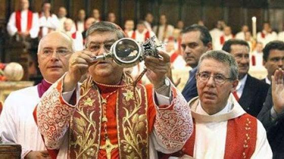San Gennaro, festa senza folla né bacio reliquie