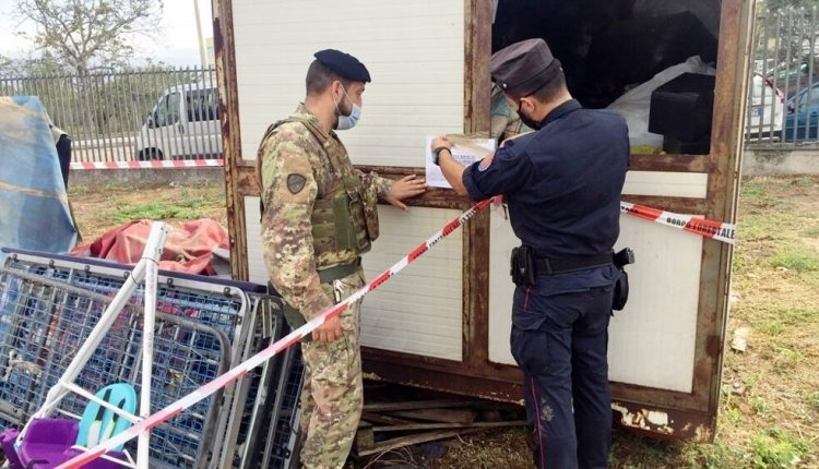 Smaltimento illecito di rifiuti, sequestrate tre aziende a Sant' Anastasia, Acerra e Somma Vesuviana