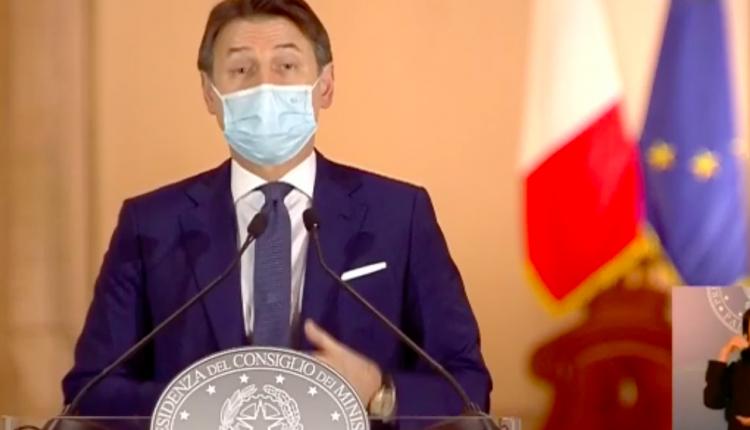 """DECRETO RISTORI DAL GOVERNO – """"5 miliardi subito, a metà novembre il contributo"""", la promessa del Presidente Conte"""