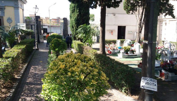 Commemorazione dei Defunti a San Giorgio a Cremano, il sindaco Zinno tiene aperto il cimitero con misure rigide di sicurezza e orari prolungati