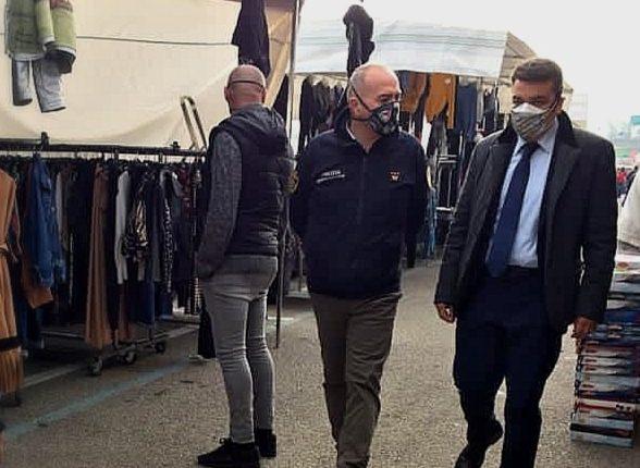 """Mercato cittadino a Pomigliano d'Arco: """"Priorità alla salute, se non ci sono le condizioni si chiude"""""""