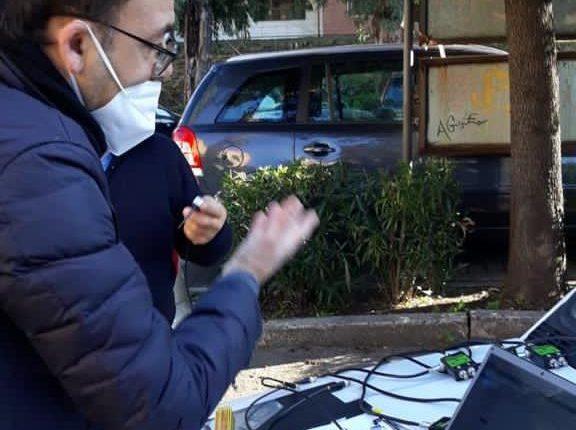 """A San Giorgio a cRemano, analisi in 3D sui tronchi degli alberi monumentali per prevenirne la caduta in caso di avversità meteo. Giorgio Zinno:""""Preserviamo il nostro patrimonio"""""""