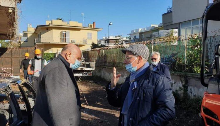 NELLA VILLA DEL BOSS VOLLARO – 𝗜𝗻𝗶𝘇𝗶𝗮𝘁𝗶 𝗶 𝗹𝗮𝘃𝗼𝗿𝗶 a San Sebastiano al Vesuvio 𝗽𝗲𝗿 𝗹𝗮 𝗿𝗲𝗮𝗹𝗶𝘇𝘇𝗮𝘇𝗶𝗼𝗻𝗲 𝗱𝗲𝗹𝗹𝗮 𝗖𝗶𝘁𝘁𝗮𝗱𝗲𝗹𝗹𝗮 𝗱𝗲𝗹 𝗣𝗮𝗻𝗲 𝗲 𝗱𝗲𝗹𝗹𝗮 𝗹𝗲𝗴𝗮𝗹𝗶𝘁𝗮̀
