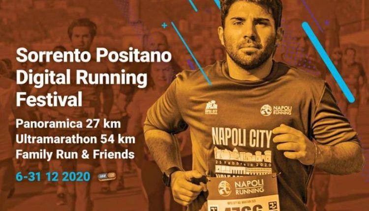 SORRENTO POSITANO DIGITAL RUNNING FESTIVAL – Via alla gara virtuale, runners in collegamento da tutto il mondo