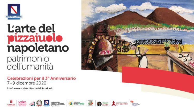 """""""Arte del pizzaiUolo napoletano"""" patrimonio dell'Umanità: celebrazioni per il terzo anniversario del riconoscimento UNESCO. Dal 7 al9dicembre incontri e iniziative dal presepe speciale alla Pizza Solidale"""