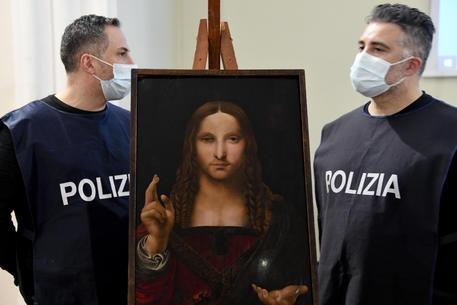 La polizia trova in unacasa nspoletana un importante quadro rubato