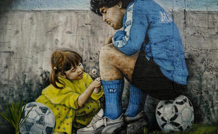 Maradona: intitolata una strada che unirà due campi calcio a San Giorgio a Cremano. Si aspetta ok della Prefettura di Napoli