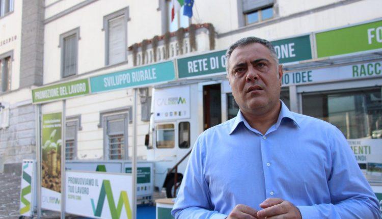 Ottaviano, col Gal Vesuvio Verde arrivano 200mila euro per il Palazzo Mediceo