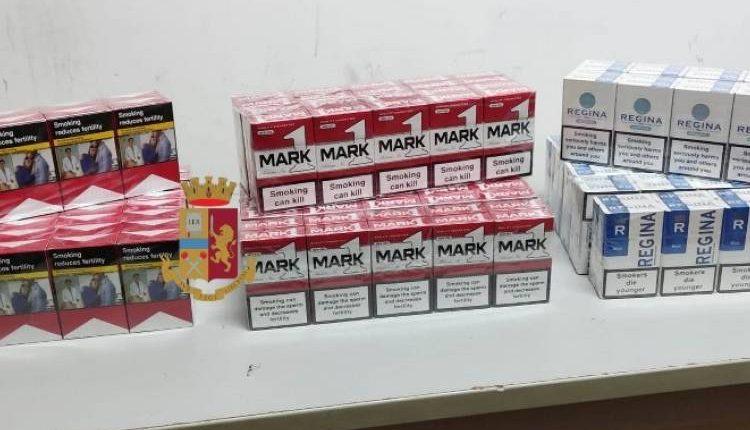 Nasconde in casa 190 pacchetti di sigarette di contrabbando a Torre del Greco, denunciato dalla Polizia