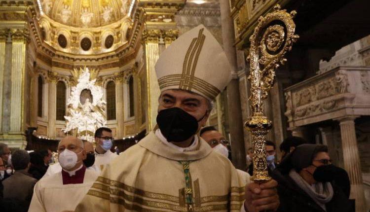 """Si insedia il Monsignor Battaglia: """"Non bisogna lasciare indietro nessuno. Il Sud divenga simbolo di rinascita e resilienza per il Paese"""""""