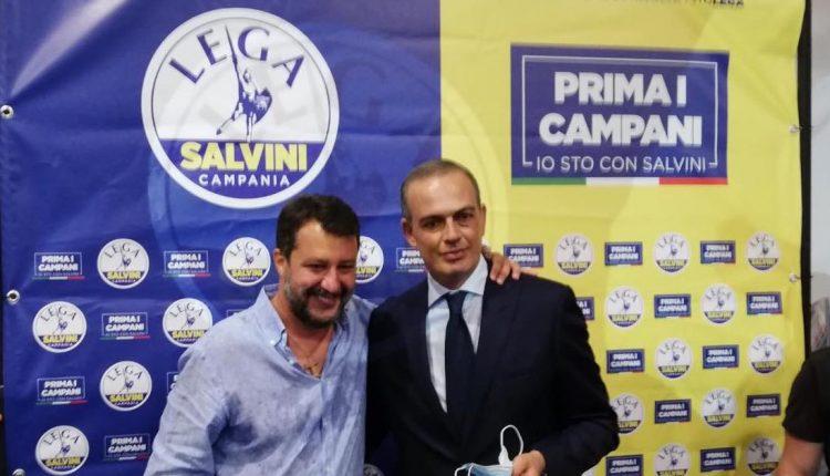 L'ex sindaco di Pollena Trocchia Francesco Pinto nominato coordinatore di Napoli Nord della Lega di Salvini