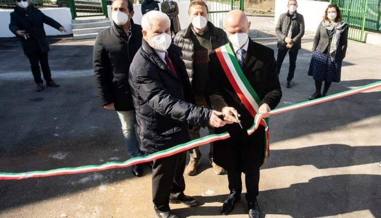 A Massa di Somma inaugurato il serbatoio Idrico Gori in via Gramsci denominato Pozzillo: i cittadini avranno l'acqua anche durante la sospensione idrica