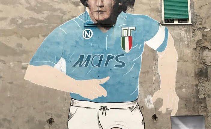 Diego Maradona e le sue città: Buenos Aires, Barcellona, Napoli: lunedì 15 febbraio ore 18 all'Instituto Cervantes di Napoli Incontro/conferenza conDaniel GampereMarco Ottaiano introduceFerran Ferrando Melià