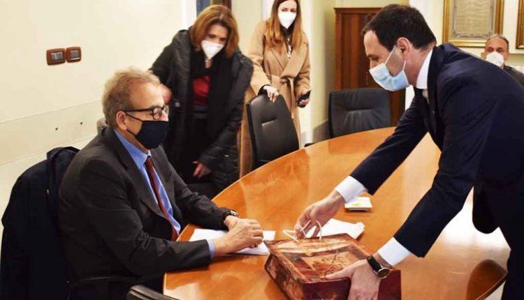 Visita istituzionale del Prefetto di Napoli al Comune di Ercolano